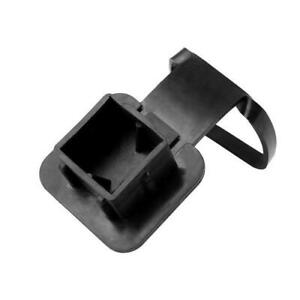"""Car Kittings 1-1/4"""" Black Trailer Hitch Receiver Cover Cap Plug Parts Accessory"""