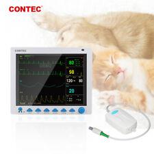 Co2 Veterinary Capnograph Vital Signs Monitor 7 Parameter Patient Monitor Etco2