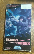 ESCAPE FROM THE BRONX 1983 ENZO G CASTELLARI - VHS NTSC VCR Tape