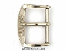 BULOVA VINTAGE WRISTWATCH BUCKLE 16MM EARLY PATTERN  CHROME PLATED  SPARES L77