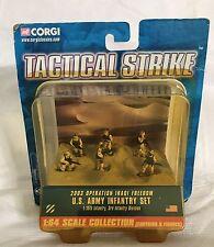 Corgi Tactical Strike 2003 Operation Iraqi Freedom U.S. Army Infantry Set 6 Figs