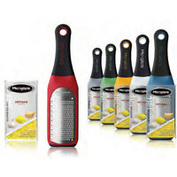Microplane Artisan Series Fine Grater Zester Color Red
