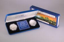 1998 RAM Fine Silver 2x $10 Coin Set - Coins of the Victorian Capital -Box & COA