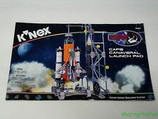 Knex Instruction Manual Only #12526 Cape Canaveral Launch Pad Instructions Book
