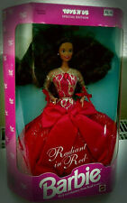 Barbie Disney Mattel RADIANS dans Red Doll Special Edition A. Holiday Collection