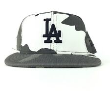 Los Angeles Dodgers Camo Baseball Cap Hat Fitted 7 1/4 Cotton