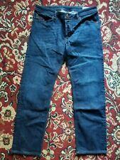 Diesel Waykee 0845B Stretch Regular Straight Leg Button Fly Jeans Size 33 X 30