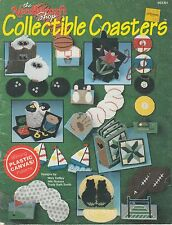 Needlecraft Shop Collectible Coasters - plastic canvas pattern book - 1990