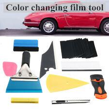 28X Window Tint Film Wrapping Vinyl Tools Color Squeegee Scraper Applicator Kits