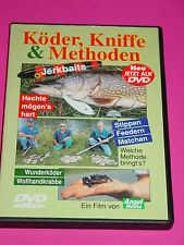 DVD VIDEO - KÖDER , KNIFFE & METHODEN / ANGELWOCHE FILM