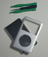 Silver iPod classic 120GB back cover + front case replacement kit New