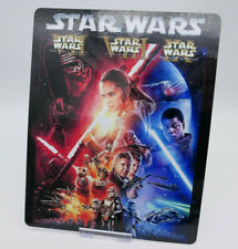 STAR WARS 7 8 9 Trilogy GLOSSY Bluray Steelbook Magnet Cover (NOT LENTICULAR)