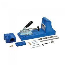 MASCHERA di inserimento KREG Tasca Foro falegnameria Kit Con Rimovibile Drill Guida carpenteria strumenti K4