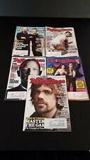 Magazine Vintage Rolling Stone Lot of 5 Featuring TV Personalities