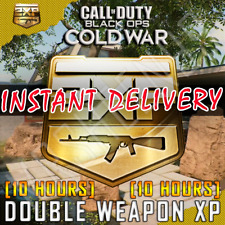[10 HOURS] Double Weapon 2XP Call of Duty Black Ops Cold War & Warzone 2WXP Code