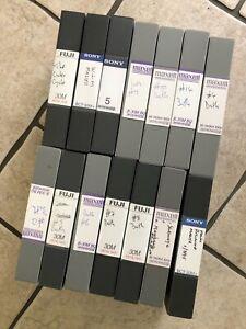 Betacam Video Tapes x14