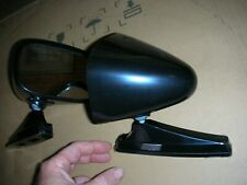 1968 1969 1970 dodge charger bullet style universal sport mirrors  BLACK