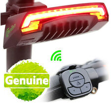 MEILAN USB Rechargeable Wireless Remote Bicycle Laser Rear Tail Light Waterproof