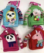Set of 4 Ugly Christmas Sweater Ornaments Target Wondershop 2019 Sloth Flamingo