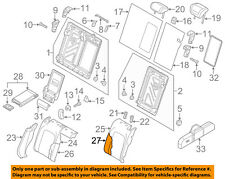 AUDI OEM 15-18 A3 Rear Seat-Seat Back Pad Left 8V5885775A