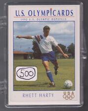 (500) 1992 US OLYMPIC HOPEFULS RHETT HARTY CARDS #66 ~ GIANT LOT STANFORD SOCCER