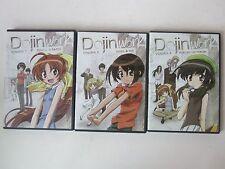"""Dojin Work"" Complete TV Anime Series 3-DVD Volumes 1 2 3 Eps 1-12 AnimeWorks"