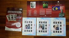 Malaysia sheetlet First Cover 2018 Tun Mahathir 93 Birthday + folder + poster