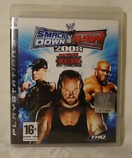 PLAYSTATION 3 PS3 SmackDown VS Raw 2008 Combat GAME