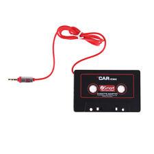 3.5mm Jack Plug Car Cassette Tape Adapter Cassette Mp3 Player Converter S1#