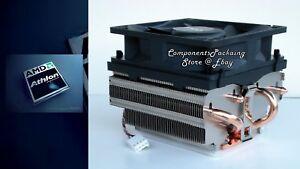 """Athlon X4 880K Cooler Fan + Heatsink with Near Silent Technology """"No CPU"""" - New"""