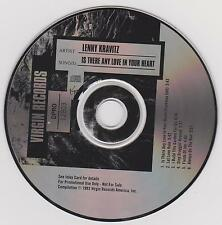 LENNY KRAVITZ - Is There Any Love In Your Heart + 5 SONGS - 1993 CD ONLY NO CASE