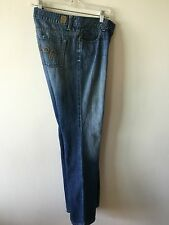 Women's GUESS Jeans Style 81 Stretch Flare Size Tag 30 Measure 33x32 USA