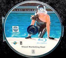 LADY GAGA Visual Marketing Reel 28 Music Videos BLU-RAY DVD 2.5 Hr FREE SHIPPING