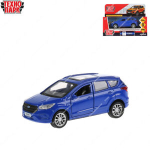 Tehnopark Diecast Vehicles Ford Kuga Blue Russian Toy Cars 12 cm