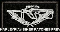AIRN MILITARY MEDAL 50mm - EMBROIDERED BIKER PATCH