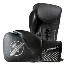 Hayabusa Pro Lace Up Boxing Gloves Sparring Leather Muay Thai Kickboxing MMA