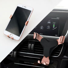 Rose Gold Mobile Phone GPS Stand Holder Cradle Mount Support For Car Accessories