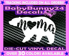 Mama Bear Vinyl Decal Sticker Mom Car Truck Mom Baby Children Family