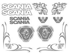 SCANIA Tulip Sticker Set