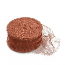 COPPER MESH ( 100 FOOT ROLL ) RODENT EXCLUSION & PROOFING GOOD FOR UNDER WATER