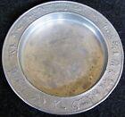 Vintage Retro Aluminum Metal Dish with CIRCUS ANIMALS Raised Border (AB809)