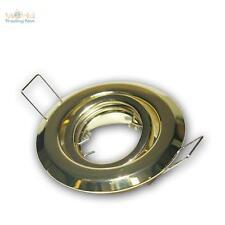 5 pièces laiton Luminaire encastrable MR11 12v pivotant Spot cadre de montage