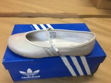 Adidas O-Type Gym Dancing Shoes Ballerina Ladies Size 36 2/3 Leather 017308