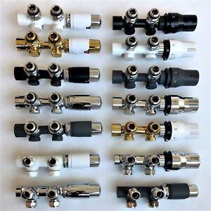 Badheizkörper Anschlussarmatur Heizkörper Thermostat Multiblock Mittelanschluss