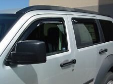 2007 - 2011 Dodge Nitro 4-Piece In-Channel Wind Deflector Shades