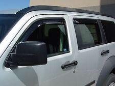 2007 - 2011 Dodge Nitro 4-Piece In-Channel Wind Deflector Shades