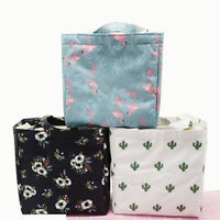 JW_ FP- Insulated Lunch Bag Thermal Cooler Women Kids Picnic Food Box Tote Car