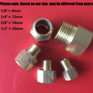 BRASS BSP Male to Female BSP in Brass -Metric UK Extension Adapters