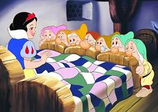 SNOW WHITE A4 GLOSSY POSTER 1