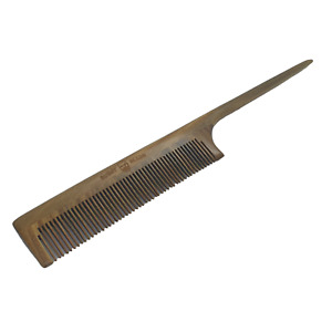 BUSHY BEARD Mens Ladies Barbers Wooden Hair Styling Lift Divide Curl Tail Comb